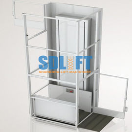 China Portable 3M Hydrualic Small Home Lift Elevator Wheelchair Lift For Apartments supplier