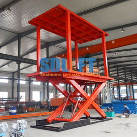 China Home Hydraulic Vehicle Lift Smart Parking Underground Car Lifts For Small Garages supplier