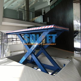 China 3500kg Hydraulic Scissor Car Lift , Auto Scissor Lift For Workshop Use supplier