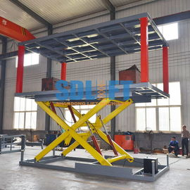 China Heavy - Duty Hydraulic Car Lift For Basement Car Elevator Parking Systems supplier