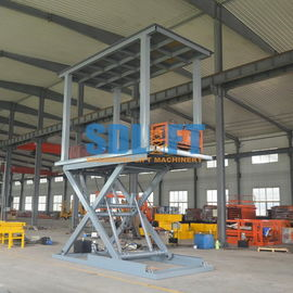 China 6T 3M 2 Level Hydraulic Garage Parking Car Lift Mechanical Parking System supplier