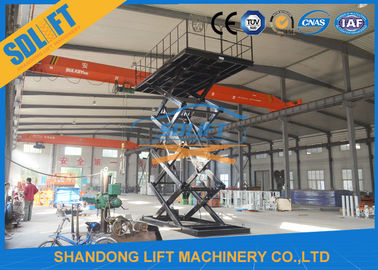 China 3T 8M Hydraulic Scissor Car Parking Lift Hydraulic Car Lift for Home Garage supplier