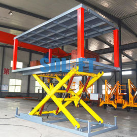 China 5t 3m Hydraulic Car Lift for Home Garage Basement Stackable Car Parking System with CE supplier