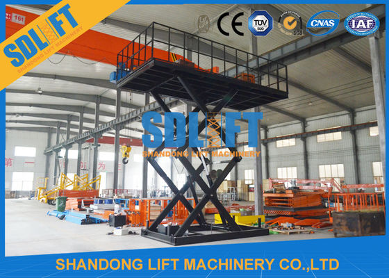 China 3T 5M Hydraulic Car Lift Scissor Car Parking Lift with CE supplier
