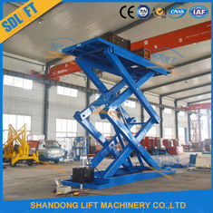 Portable 3000kgs 5M Basement Scissor Car Parking Lift