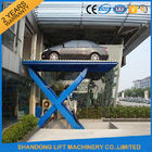 China Home Garage Hydraulic Scissor Car Lift , Automotive Vehicle Lifts Equipment factory