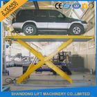 China High Strength Manganese Steel Hydraulic Auto Lift Car Lifts 3500kgs Loading Weight factory