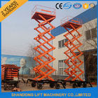 Good Quality Stationary Hydraulic Scissor Lift & Electric Hydraulic Lift Table , Mobile Aerial Work Lifting Platforms Equipment for Building Cleaning on sale