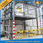China 3.5 Tons Hydraulic Deck Lift Elevator , Warehouse Goods Elevator Lifts Commercial factory