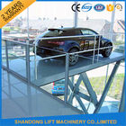 China Residential Car Lifting Hydraulic Garage Car Elevator For Home Garage CE ISO SGS factory