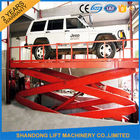 China 220V Electric Portable Hydraulic Scissor Car Lift for Outdoor / Home Garage CE factory