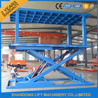 Good Quality Stationary Hydraulic Scissor Lift & Indoor / Outdoor Double Car Parking Hydraulic Platform Lift 1 ton - 20 ton Load Capacity Custom on sale