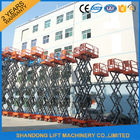 China High Rise Telescopic Work Platform for Elevated Aerial Working 3.2km/h Travel Speed factory