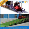 China 8 Ton Steel Trailer Ramp for Container Loading / Unloading 0.75kw 2.2kw Power factory