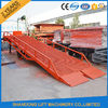 China Heavy Duty Container Loading Ramps / Unloading Ramps with 6T 10T 15T Loading Capacity factory