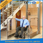 Wheelchair Hydraulic Platform Lift with Powder Coating Stainless Steel / Aluminum Alloy Material