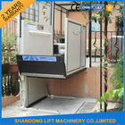 China 1m - 6m Home Vertical Wheelchair Lift ,  Exterior Residential Outside Elevators for Homes  company