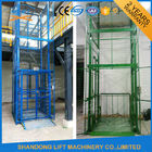 1.5 ton 7.5m Guide Rail Electric Hydraulic Warehouse Elevator Lift for Cargo Lifting