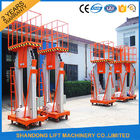 200kg 10m Movable Aerial Work Platform Lift , Hydraulic Safety Work Platform Rental