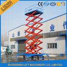 China 4m - 20m Lifting Height Mobile Scissor Lift Table for Aerial Work / Building Cleaning factory