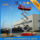 China Hydraulic Auto Self Propelled Elevating Work Platforms with LED Battery Condition Indicator factory