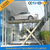 China 1 T - 20 T Automotive Hydraulic Scissor Car Lift for Ungerground Car Parking factory