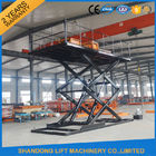 China CE 3T 4.8M Hydraulic Scissor Car Lift For Parking Scissor Type Basement Car Lift factory