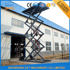 China 10M 2.5T Full Rise Pit Mounted Hydraulic Scissor Car Lift High Rising factory