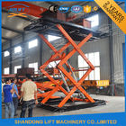 China Customized Automotive Scissor Lift Villa Basement Lift For Parking factory