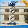 10m Movable Scissor Lift Table Hydraulic 4 Wheels Mobile Aerial