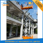China Electric Battery Power Scissor Lift Self - propelled Mobile Battery Aerial Lift factory