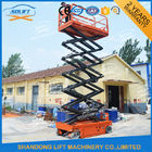 8M 450KG Electric Aerial Scissor Lift , Self Propelled Work Platform CE ISO