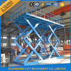 China CE 5T Hydraulic Double Scissors Car Parking Lift Large Platform Scissor Car Lift company