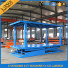 Vertical Double Deck Car Parking System , Hydraulic personal lifts for home use