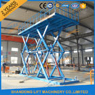 China 6T 5M Heavy Duty CE Hydraulic Scissor Lift Hydraulic Large Scissor Cargo Lift company