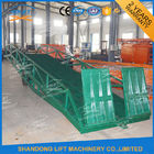 Adjustable Warehouse Container Loading Ramps , Electric Container Yard Ramp