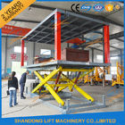 Good Quality Stationary Hydraulic Scissor Lift & Hydraulic Electric Type Portable Fixed In Ground Car Lift For Parking With CE on sale