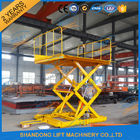 Good Quality Stationary Hydraulic Scissor Lift & 600KGS 2M Warehouse Hydraulic Cargo Scissor Lift with Movable Wheels on sale