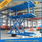 China Platform Hydraulic Double Deck Car Parking System , Underground Garage Car Parking Lifter company