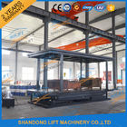 5T 3M Double Layer Hydraulic Scissor Car Lift For Villa Garage 2 Cars Parking Lift