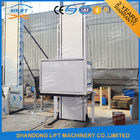 Hydraulic Vertical Wheelchair Platform Lift / Aluminum Alloy Patient Lifting Hoists