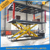 Good Quality Stationary Hydraulic Scissor Lift & 2T 3m Hydraulic Scissor Type 2 Car Parking Lift form Basement to Ground Level on sale