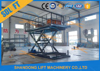 Home Residential Hydraulic Scissor Car Lift Garage Parking Car Lift CE Certificate