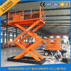 1T 5.5M Hydraulic Heavy Duty Scissor Lift Electric Home Scissor Lift Platform With CE