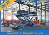 Portable Scissor Car Lift Hydraulic Scissor Car Platform Lift Stationary Scissor Elevator