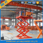 Safe 1.5T 3.5M Stationary Hydraulic Scissor Lift Hydraulic Warehouse Scissor Lift