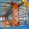 Heavy Duty Stationary Hydraulic Scissor Lift Platform For Warehouse , Packaging System