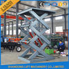 2 Ton 3m Hydraulic Elevator Lift , Warehouse Lift Platform For Cargo Lifting
