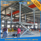5T 3M In Floor Scissor Type Car Double Layer Lift / Garage Car Lift System