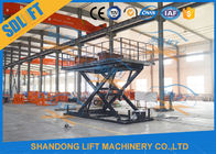 3T 3M Hydraulic Scissor Car Lift For Home Garage Villa Basement Car Parking Lift